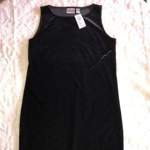 Chico's Vintage Velvet Short Tank Dress Size 1